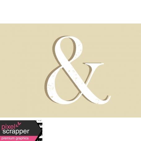 In the Pocket Journal Card [Filler Card] Ampersand - 4x6