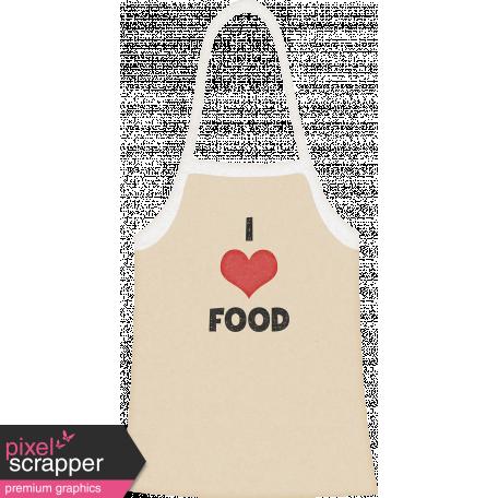 Food Day - I love Food Apron