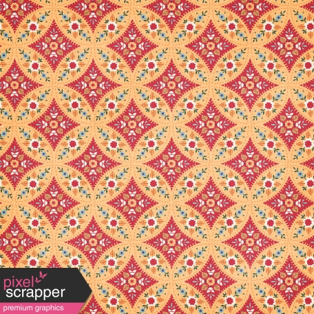 Pumpkin Spice - In the Orchard Floral Paper
