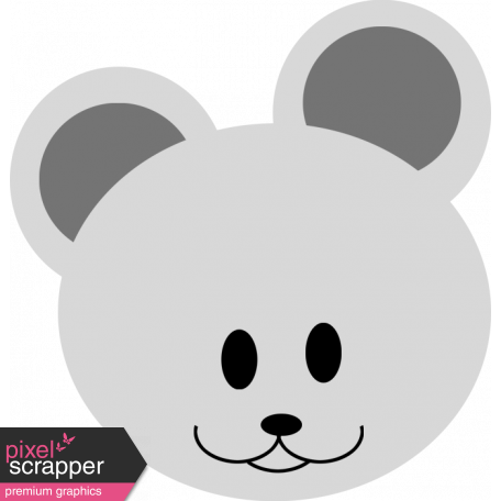 Baby Shower Mouse Template