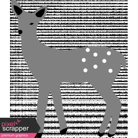 Warm n Woodsy Deer Template