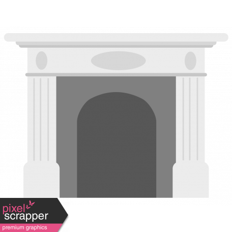 Warm n Woodsy Fireplace Template