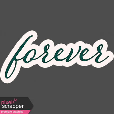 Legacy of Love Forever Word Art