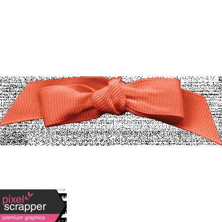 Inner Wild Orange Bow