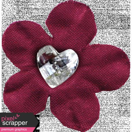 Delightful Days Jeweled Heart Flower