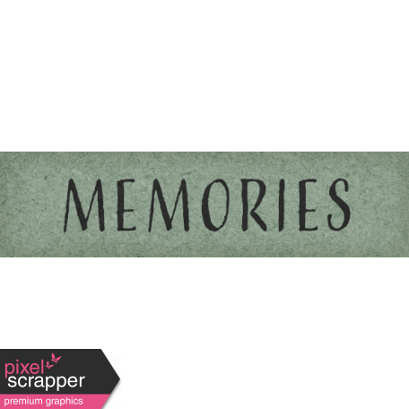 Delightful Days Memories Word Art Snippet