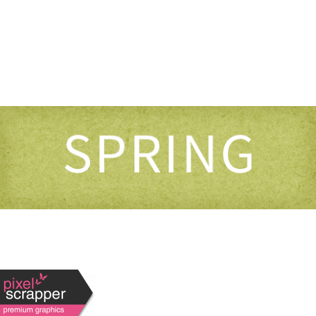 Delightful Days Spring Word Art Snippet
