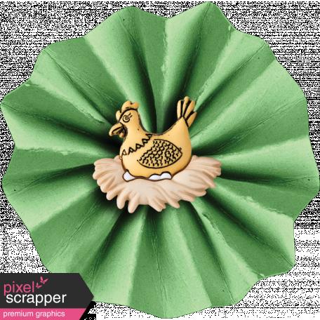 Veggie Table Elements - Chicken Flower