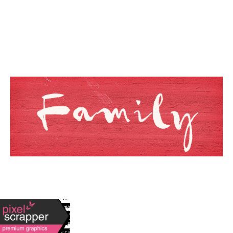 Old Farmhouse Family Word Art