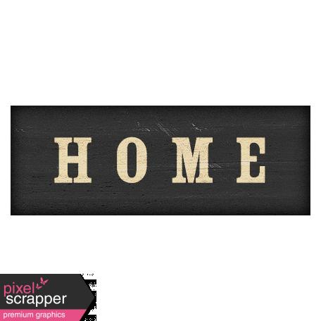 Old Farmhouse Home Word Art
