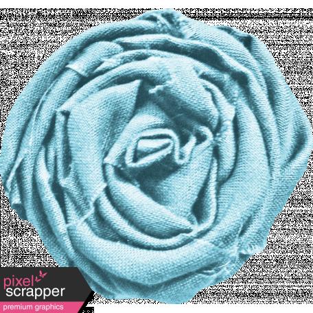 Bohemian Sunshine Element Blue Flower