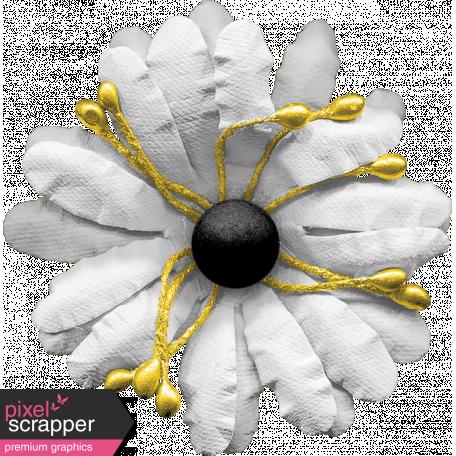 Bohemian Sunshine Element White Flower