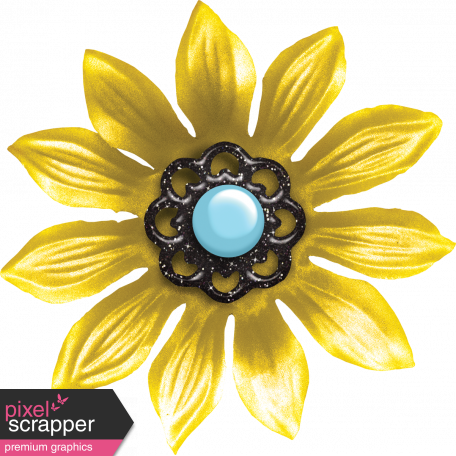 Bohemian Sunshine Element Yellow Flower