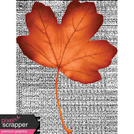 Bohemian Sunshine Element Orange Leaf