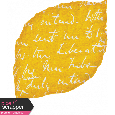 Bohemian Sunshine Element Yellow Leaf