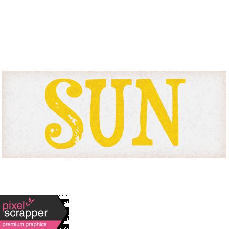 Bohemian Sunshine Element Sun Tag