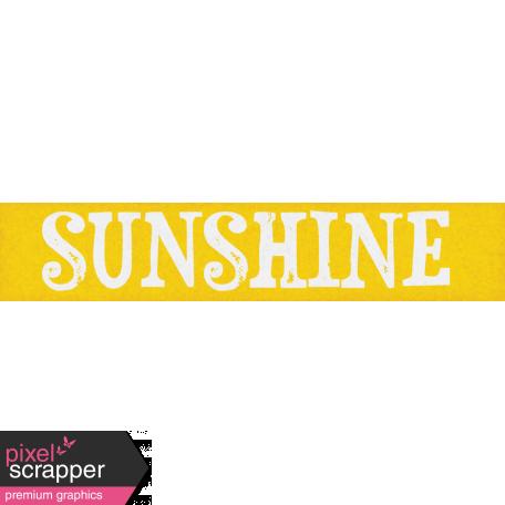 Bohemian Sunshine Element Sunshine Tag