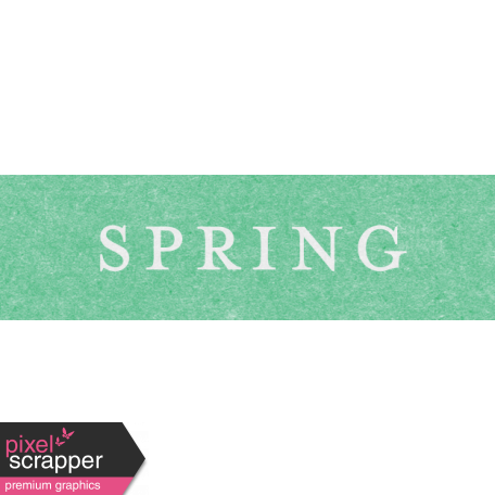 This Beautiful Life Spring Word Art Snippet
