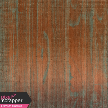 Copper Spice Wood Patina Paper