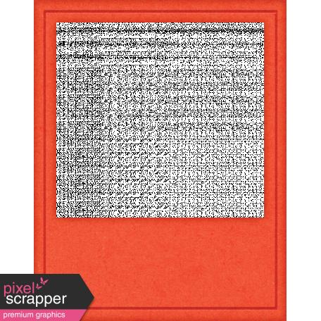 Positively Happy Orange Photo Frame
