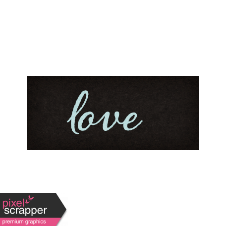 Positively Happy Love Word Art Snippet