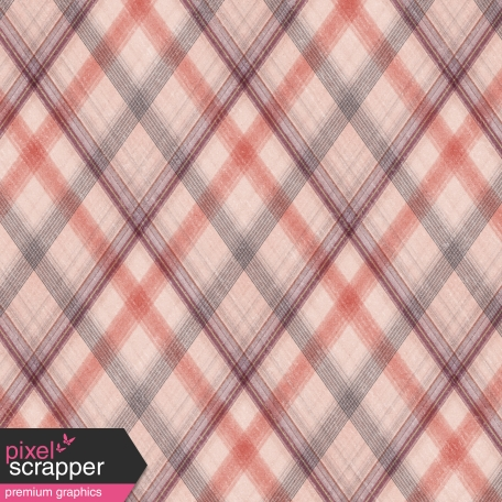Sweet Blush Plaid Paper