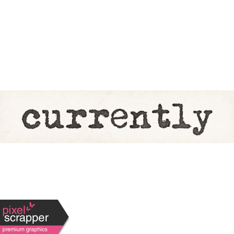 Tomorrow Currently Word Art Snippet