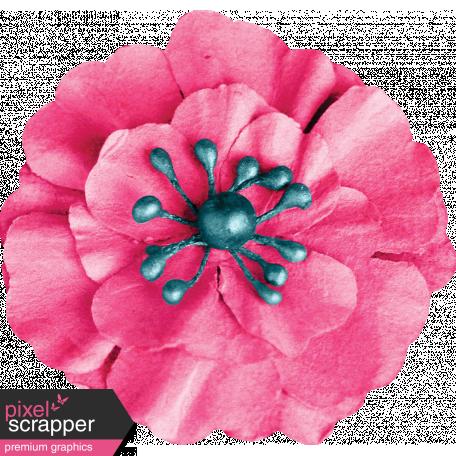 Tea in the Garden Pink Flower