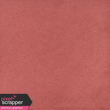 Furry Cuddles Solid Paper Red