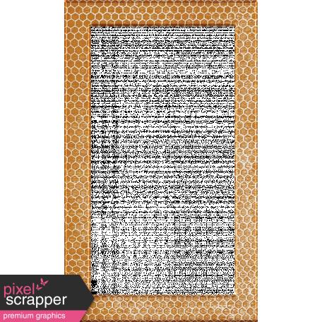 Heard The Buzz? Honeycomb Photo Frame