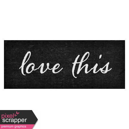 October Days Love This Word Art Snippet