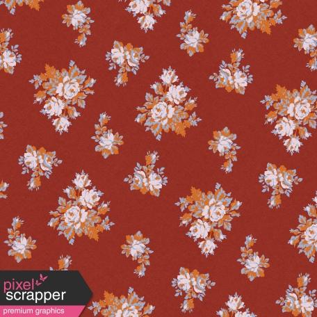 October Days Floral Paper