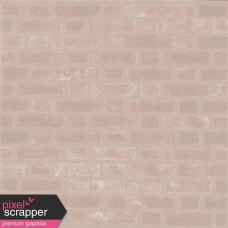 Shop 'Til You Drop Brick Paper