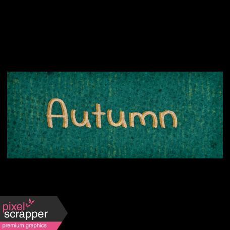 Mulled Cider Autumn Word Art