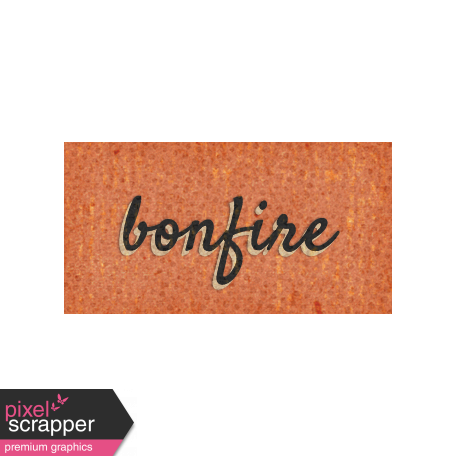 Mulled Cider Bonfire Word Art