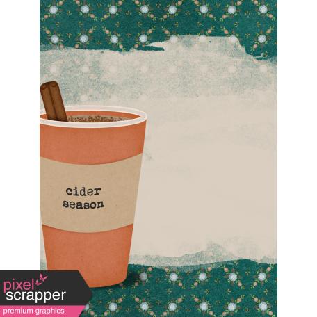 Mulled Cider Cider Journal Card 3x4