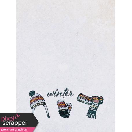 Apricity Winter 3x4 Journal Card