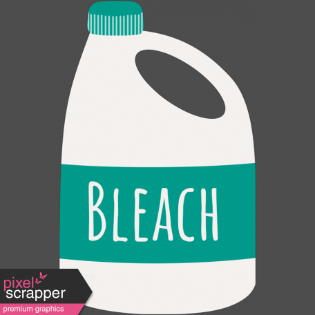 Healthy Measures Print Element Bleach Gray Outline