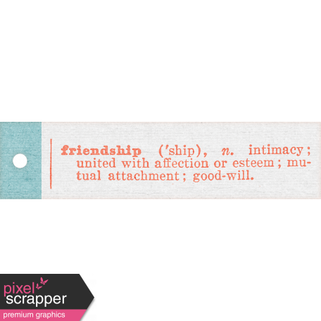 Better Together Friendship Tag