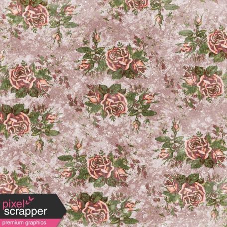 Rustic Wedding Romantic Roses Paper