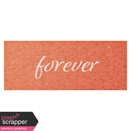 Rustic Wedding Forever Word Art
