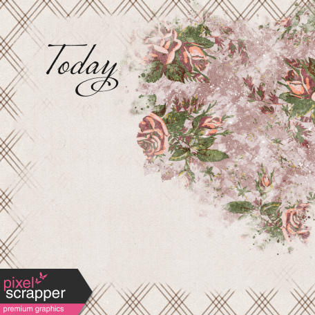 Rustic Wedding Journal Card Today 4x4