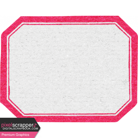 True Friends Element Label Hot Pink