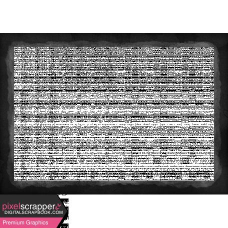 Backyard Summer Element Black Photo Frame