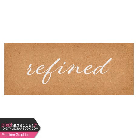 Classy Word Art Snippet Refined