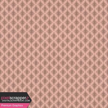 Classy Pink Ornate Paper