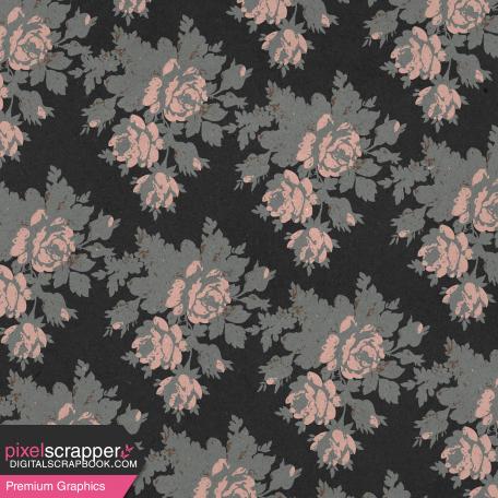 Classy Black Roses Paper