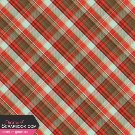 Camp Out : Lakeside Plaid Paper 05