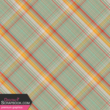 Camp Out : Lakeside Plaid Paper 06