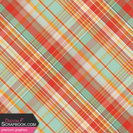 Camp Out : Lakeside Plaid Paper 07